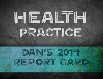 Lessons from my 2014 health practice report
