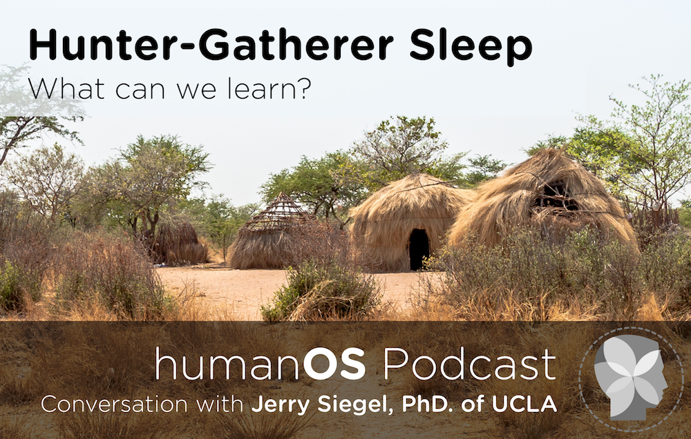 Hunter-gatherer sleep with Jerry Siegel