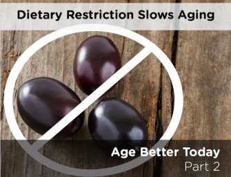 Better Aging Part 2 – Slowing Down Aging with Dietary Restrictions