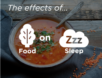 Does What You Eat Today Affect How You Sleep Tonight? Yes